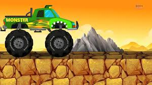 100 Monster Truck Destroyer Numbers Learn Numbers Video Dailymotion