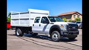 100 Ford F450 Dump Truck 2016 Bed Walkaround YouTube