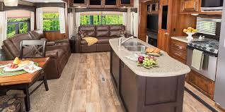 Fifth Wheel Campers With Front Living Rooms by 2017 Eagle Fifth Wheel Jayco Inc