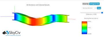 skyciv beam software cloud structural software