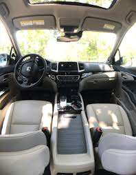 Used Honda Pilot With Captain Chairs by Pain Free Road Trip Yes This Family Suv Leads To Happy