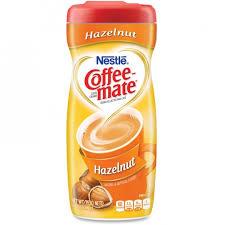 Nestle Professional 12345 Coffee Mate Hazelnut Powdered Creamer