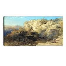 100 Rocky Landscape MasterPiece Painting Samuel Palmer In Wales Fabuart
