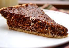 Pumpkin Pie With Molasses Brown Sugar by Pa Dutch Amish Molasses Pie