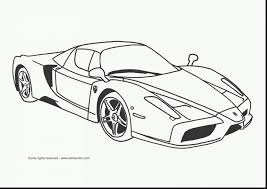 Surprising Ferrari Car Coloring Pages With Sports And