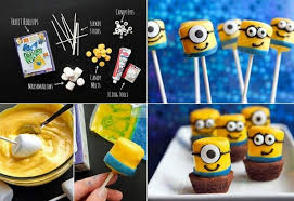 Funny Despicable Me Marshmallow Minons