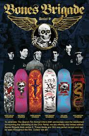 Tony Hawk Reissue Skate Deck by Limited 9th Series Blog Bones Brigade An Autobiography