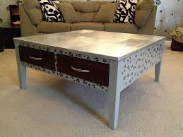 Furniture Diy Coffee Table Inspirational Aluminum Foil Top Kelly Gene