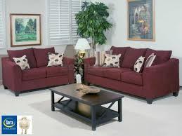 Milari Sofa Living Spaces by Serta 1225 Flyer Wine Living Room Set