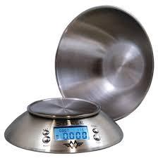 balance de cuisine avec bol balance de cuisine pour aliments régime ingredients cuisiner bol inox