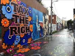 Balmy Alley Murals Mission District by See 23 Years Worth Of Clarion Alley Art Curbed Sf