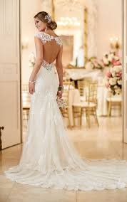 demure yet stylish this sleeveless all over lace mermaid gown is
