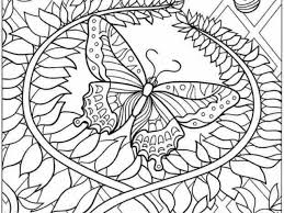 Butterfly Coloring Pages For Adults 6