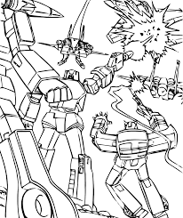Transformers The Ride 3D Coloring For Kids GOGO Vacations Blog