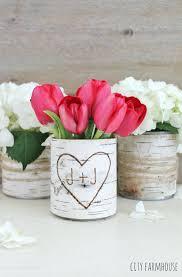 Ideas For Vases Birch Flower Rustic Table Spring Summer