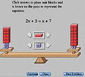 Virtual Algebra Tiles For Ipad by Math Tool Algebra Balance Scales