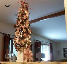 I Put The Ornaments On While It Sat Floor Thought Would Be Fast And Easy But Took Three Attempts With Help From DH To Get