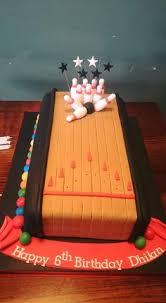 Bowling Birthday Cake Ideas cakepins