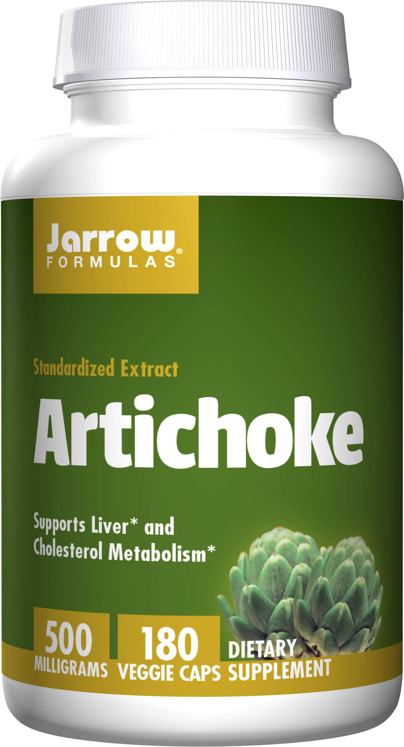 Jarrow Formulas Artichoke - 500mg, 180ct