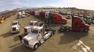 100 Heavy Duty Truck Auction Drone Video Of Equipment And Truck Auction In Los Angeles Ritchie