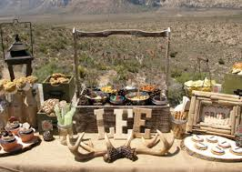 Image Of Rustic Outdoor Party Decorations