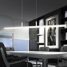 led decken le ess zimmer tisch hänge beleuchtung design
