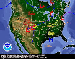 forecast and severe outlook friday may 7th firsthand weather