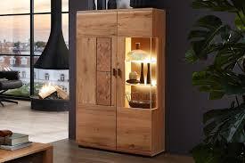 wohnconcept vitrine madera i in kernbuche möbel letz ihr
