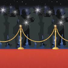 Scene Setter Roll Halloween by Hollywood Escena Setter Room Roll Red Carpet Noche Ebay