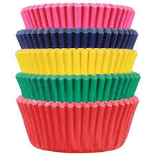 PME Carnival Paper Baking Cases For Cupcakes Mini Size Pack Of 100