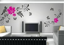 Simple Wall Painting Designs Paint For Living Room Of Good