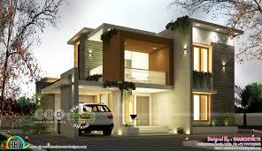100 Contemporary Home Designs Photos Modern Contemporary Box Model House 2500 Square Feet