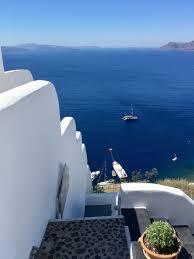 Cruise Ship Sinking Santorini by Mahogany Drive Everything Is Beautiful In Santorini