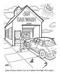 Coloring Books By Justin Nitz At Coroflot Coloring Pages Of Car