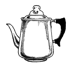 Digital Stamp Design Vintage Drawing Coffee Pot Clipart Rh Digitalstampdesign Blogspot Com
