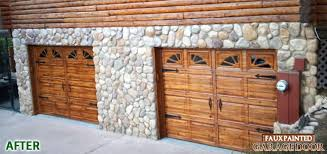 Faux Painted Garage Doors Shutters