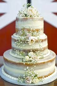 Rustic Wedding Cake Babys Breath Images About Ideas On Guest