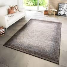 moderner teppich bordüre braun beige creme