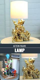 Handmade Craft Items New Ideas Cool Crafts For Teens Boys And Girls Action Figure Lamp