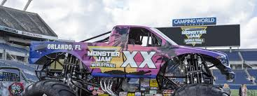 100 Monster Truck Orlando To Host Jam World Finals XX Jam