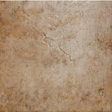 style selections mesa beige glazed porcelain floor tile common