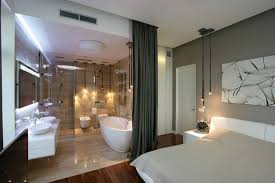 Open Bathroom Concept For Your Master Bedroom Chic Open Bathroom Concept The Design Trend For The