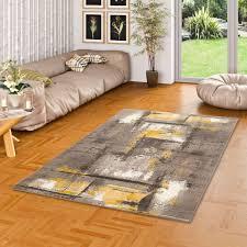 designer teppich samba modern beige braun