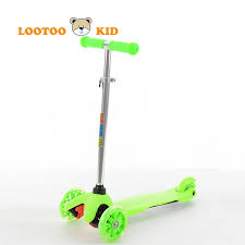 Alibaba China Manufacturer Wholesale Cheap Price New Model Three Wheel Kids Scooter