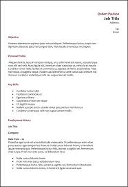 How To Type A Proper Resume by 32 Best Resume Exle Images On Career Choices