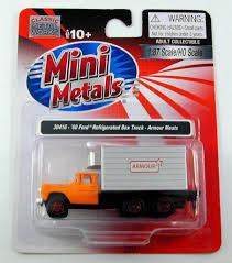 100 Armour Truck Classic Metal Works HO 1960 Ford Refrigerated Meats