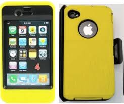 OtterBox Defender iPhone 4 4s Yellow Case
