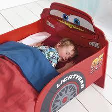Lighting Mcqueen Toddler Bed by Disney Cars Snuggletime Mdf Junior Toddler Bed New Bedroom Ebay