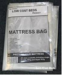 Polythene plastic mattress protector storage bag Matress transport