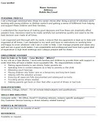 Cv Template For Social Workers Curriculum Vitae Worker Example